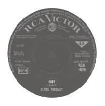 Elvis Presley  - There's Always Me c/w Judy (Rarest UK RCA Victor Single)